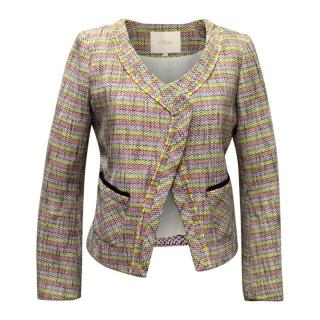 Maje Multicolour Twill Jacket