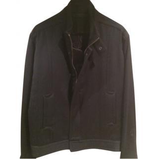 Yves Saint Laurent Men's Lightweight Wool Jacket