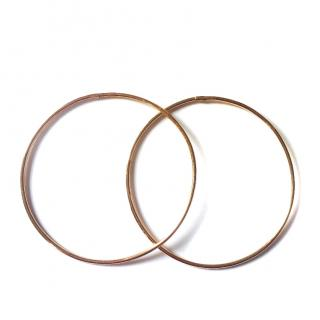 Gold Vintage Hoops earrings