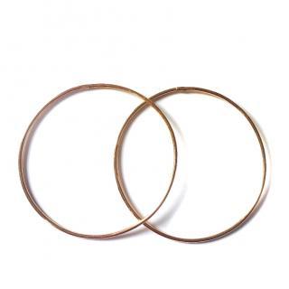 Gold Vintage Hoops earrings