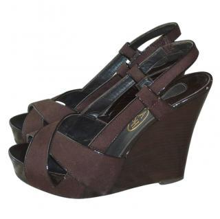 Ash wedge heel sandals