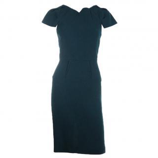 Roland Mouret Wool Crepe Dress