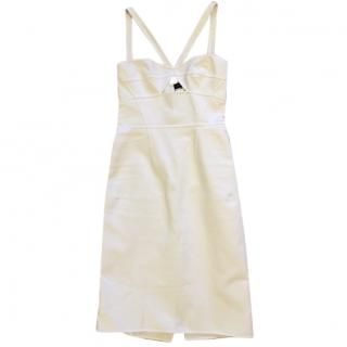 DSQUARED2 Sabrina White Cocktail Dress