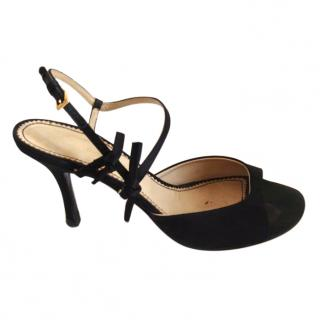 Bimba y Lola black sandal