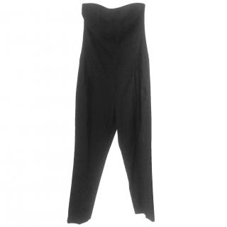 Theory Wool Jumpsuit in Black
