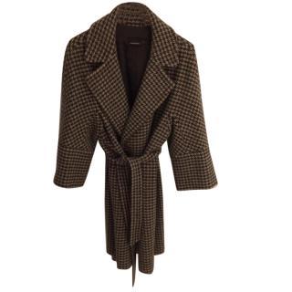 Max Mara 100% Pure Virgin Wool Coat.