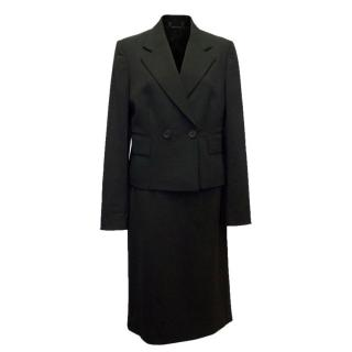 Gucci Black Suit Skirt and Blazer