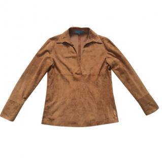 Escade Sport suede shirt - tunic