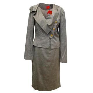Vivienne Westwood Grey Skirt Suit