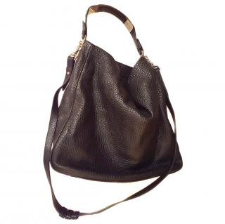 Mulberry Eveline Hobo in Black buffalo leather