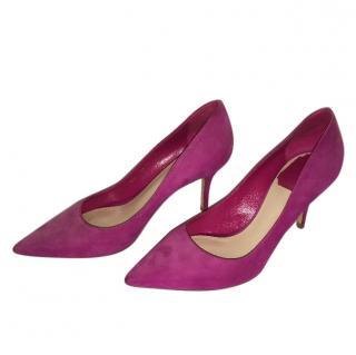 Christian Dior Suede Pink Pumps