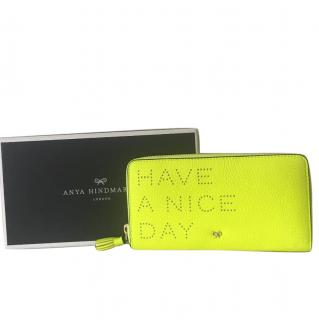Anya Hindmarch New Have a nice day wallet