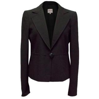 Armani Black Fitted Blazer