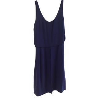 Chloe Blue Silk Dress
