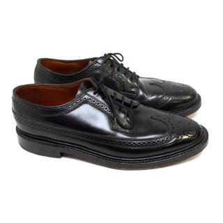 Florsheim Black Leather Brogues