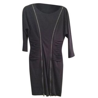 Catherine Malandrino grey dress.
