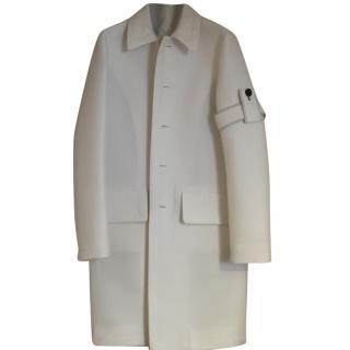 Celine white coat
