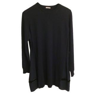 Miu Miu 100% Wool & Silk Jumper. Size 44IT