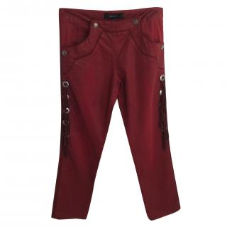 Isabel Marant Red Jeans.