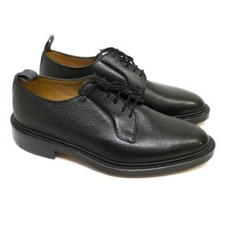 Thom Browne Black Grain Leather Shoes