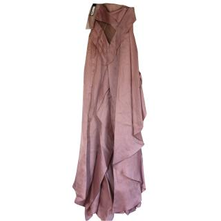 BNWT Versace couture silk ball dress