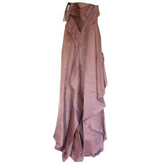 BNWT Versace couture silk ball dress RRP gbp10,000