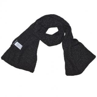 Dolce & Gabbana Men grey cashmere scarf