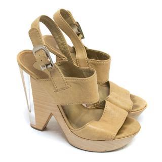 Chloe Nude Sandals