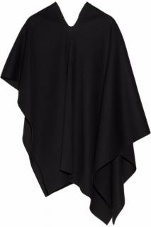 Donna Karan New York black modal - jersey poncho