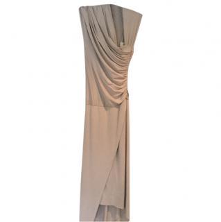 Mason beige dress.