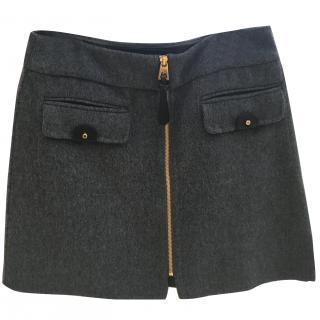 Barbara Bui Grey Skirt