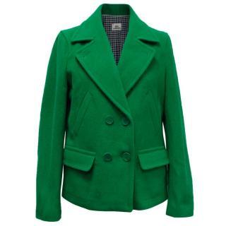 Lacoste Green Wool Jacket
