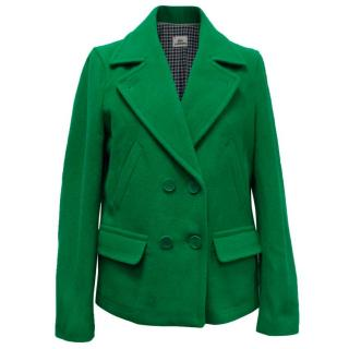 Lacoste Green Wool Jacket