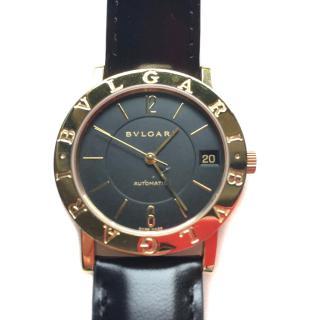 BULGARI vintage 18KT golden watch