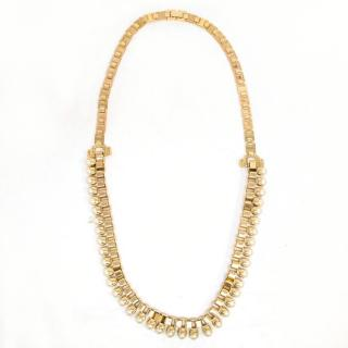 Mawi Gold Single Claw Pearl Necklace