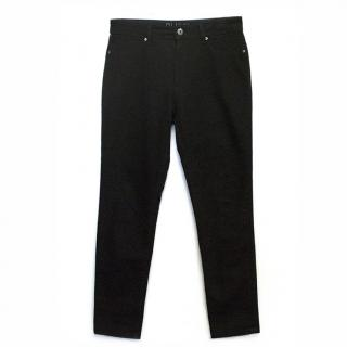 DL1961 Nina High Rise Skinny Jeans in Onyx Black