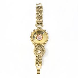 Mawi Gold & Crystal Chunky Bracelet