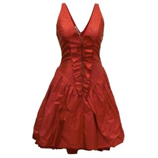 Jil Sander Red Dress