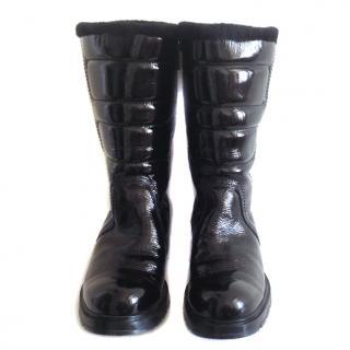 Hogan Rock fur lined boots
