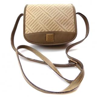 Givenchy Vintage Khaki Shoulder Bag.