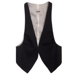 Acne linen short vest