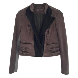 30a92d0909dc5 yoga azrouel leather biker jacket