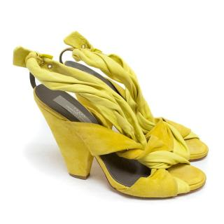 Preen by Thornton Bregazzi Yellow Sandals