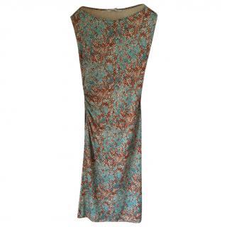 Diane von Furstenberg Python dress