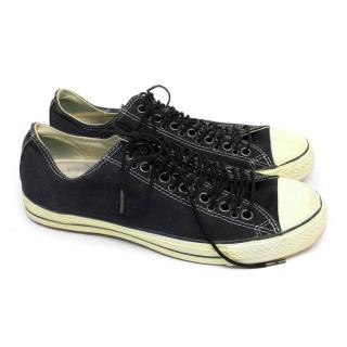Converse by John Varvatos Black Low-Top Trainers