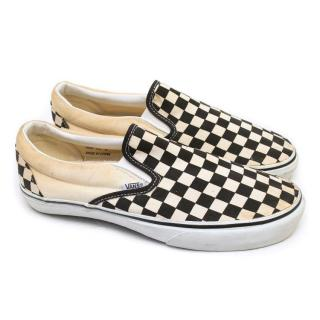 Vans Checkered Loafers