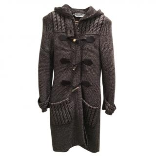 Christian Dior warm knitted coat