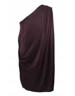 Acne Silk One Shoulder Dress 14