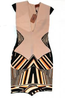 Missoni Bodycon Aztec Design Dress NWT