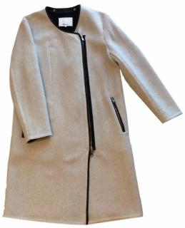 Philipp Lim Oyster Grey Coat